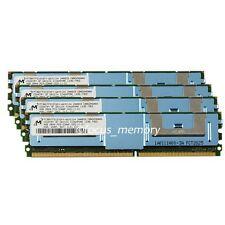 16GB Micron 4x4GB PC2-5300F DDR2-667MHZ ECC Fully Buffered FB-DIMM Server Memory