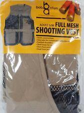 Bob Allen Outdoor Connection Mesh Trap Skeet Shooting Hunting Vest Small/Medium
