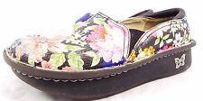 Alegria DEB Floral Leather Platform Loafers // Women's Size 5.5