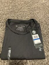 Mens Under Armour Grey Shoet Sleeve Athletic Tee Size Xl