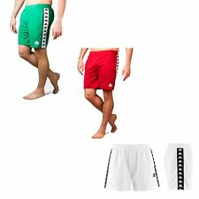 e3b9871784 Kappa Authentic Cole 222 Banda Slim Fit Summer Shorts in Red, White & Green