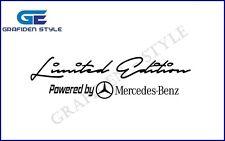 "1 Stück  ""Limited Edition By MERCEDES BENZ"" LKW Aufkleber - Sticker - Decal !/!"