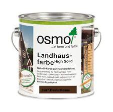 Osmo Landhausfarbe HS 2607 Dunkelbraun 750 ml