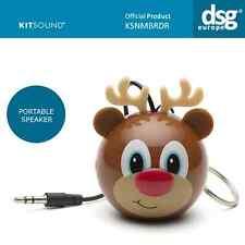 Kitsound mini buddy enceinte portable rechargeable câble usb ksnmbrdr renne