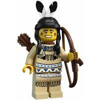Lego Minifigure -  Tribal Hunter (Series 1) Rare.
