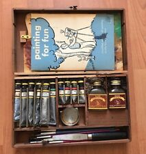 Vintage Devoe and Raynolds Co Oil Color Painting Artist Materials 1940 Pre-Owned