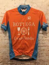 GIORDANA Bottega Gran Fondo Cycling Jersey Full Zip Pinarello Handmade Italy Med