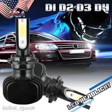 1000W 150000LM D2S D2R D2C LED Headlight Kit Bulbs HID Xenon Replacement 6000K