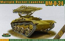 ACE 1/72 72542 WWII Soviet Red Army BM-8-24 Katiusha on T-60 Chassie