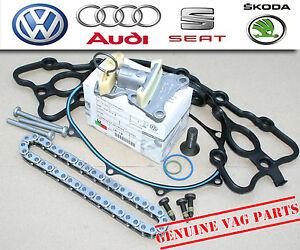 Original Audi A3 S3 A4 A6 2.0 FSI/2.0 TSI Steuerkette & Spannrolle Reparaturset