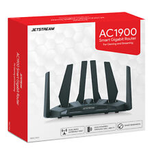 Jetstream AC1900 Dual Band WiFi Gaming Router, 801.11a/b/g/n/ac NEW