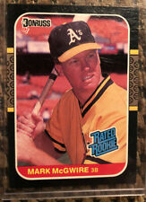 1987 Donruss #46 MARK McGWIRE Rated Rookie RC