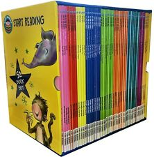 Start Reading 52 Books Collection Set Level 1 to 9 Children Early Reading Box Ne