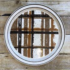 """Shannon Aran Stone Highlands 12 1/2"""" Round Platter Chop Plate Arklow Ireland"""