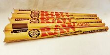 "5 Raw Supernatural 12"" One Foot Extra Long Pre Rolled Rolling Paper Cone"