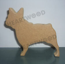 French Bulldog shape in MDF (120mm x 18mm thick)/Wooden craft