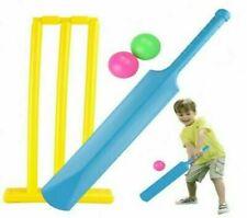 Enfants Plastique Cricket Ensemble Balle Batte Souches Intérieur Jardin Jouer