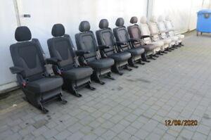 Mercedes V-klasse V-class w 447 Einzelsitz Santiago schwarz Sitz Sitze
