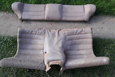 PORSCHE 924 944 REAR FOLDING SEAT BEIGE CREAM SCRIPT SPARES PARTS BREAKING
