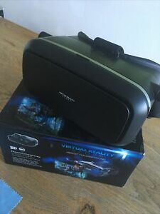VIRTUAL REALITY SCOPE HEADSET FOR SMARTPHONE 3D ANDROID IOS GOOGLE CARDBOARD APP