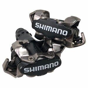 Shimano PD-M520 MTB SPD Pedals Black No Cleats