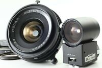 【N MINT+++】 Mamiya Sekor 50mm f/6.3 Lens + Finder For Universal Press from JAPAN