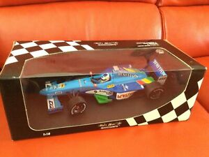 Minichamps 1:18 Benetton Playlife Show Car #9 Giancarlo Fisichella ~ Limited Ed.