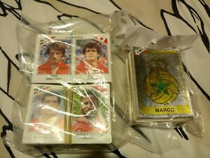 Panini Mexico 86 over 150 stickers neatly removed from album.
