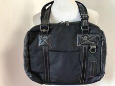 "MANDARINA DUCK Black Laptop Bag Case Handbag Purse Books ITALY fits MacBook 14"""