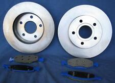 89 to 98 Tracker 2 Dr Front Brake Rotors & Pads