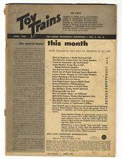 "[32367] APRIL 1954 ""TOY TRAINS"" MODEL TRAINMAN'S MAGAZINE VOL. 3, No. 6"