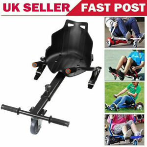 Kart Seat, Hoverkart Stand Gokart Buggy Attachment for Self Balancing Scooter UK