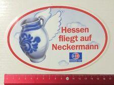 Aufkleber/Sticker: Hessen Fliegt Auf Neckermann - Neckermann Reisen (290516162)
