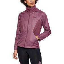Under Armour женские производительность Gore Windstopper куртка топ бордовый спорт