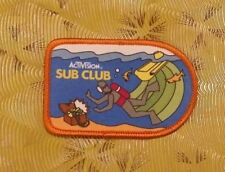 ~ Atari Video Game Vintage 80's Activision Patch - Seaquest Sub Club ~