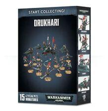 Start Collecting: Drukhari 2018 Dark Eldar Warhammer 40K NIB Flipside