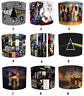 Pink Floyd Designs Lampshades, Ideal To Match Pink Floyd Wall Decals & Stickers.
