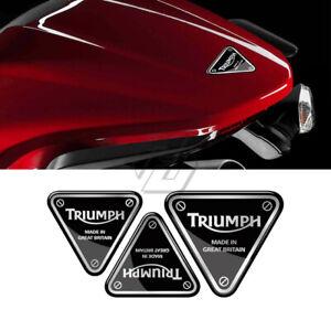 Triumph 3D Sticker Daytona Street Triple Tiger Emblem Badge Logo Motorcycle