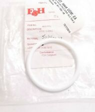 F&H 332 PTFE White Teflon O-Ring - FDA Compliant - Prepaid Shipping