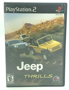 Jeep Thrills (Sony PlayStation 2, 2008 PS2) Complete CIB Tested And Working EUC