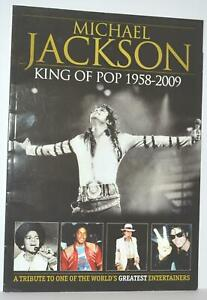 Michael Jackson King of Pop 1958 - 2009 A Tribute A4 Picture Glossy MagBook