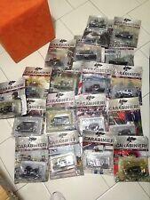 Lotto di 20 Modellini Auto E Moto Carabinieri Collezione 1:43.