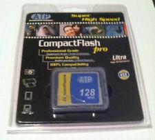 ATP Compact Flash Pro128 MB memory card. New/ Unused in original packaging.