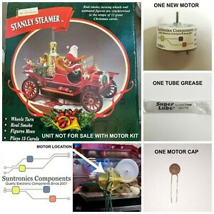 Mr Christmas Stanley Steamer -REPLACEMENT PART - MOTOR KIT (unit not for sale)