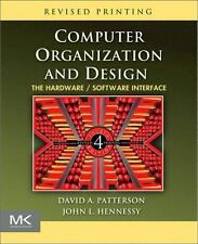 Computer Organization and Design, Fourth Edition: The Hardware/Software Interfac