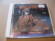 CD - Megadeth - so far, so good, so what - TOCP - 3028 JAPAN  (B)
