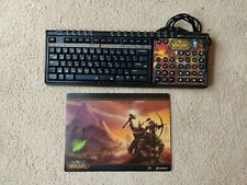 ZBoard World of Warcraft Keyboard w/Overlay Burning Crusade and Mousepad
