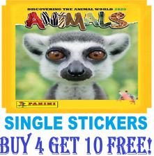PANINI ANIMALS Stickers2020 **SINGLE STICKERS** #1-200  Buy 4 Get 10 Free!!