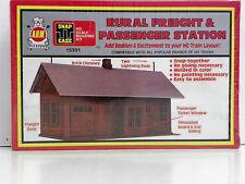 "A.H.M. HO U/A ""RURAL FREIGHT & PASSENGER STATION"" PLASTIC MODEL KIT #15301"