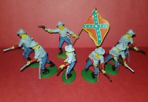 variant SOUTHERN ARMY Civil War Argentina BRITAINS 1970 Toy Soldiers Confederate